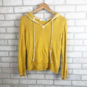 Anthropologie Sparrow Pull Over Sweater Hoodie M